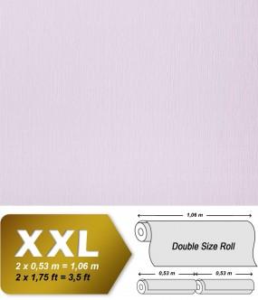 Plain wallpaper non-woven embossed texture EDEM 901-17 fabric textile look pastel lilac | 10,65 sqm (114 sq ft) XXL